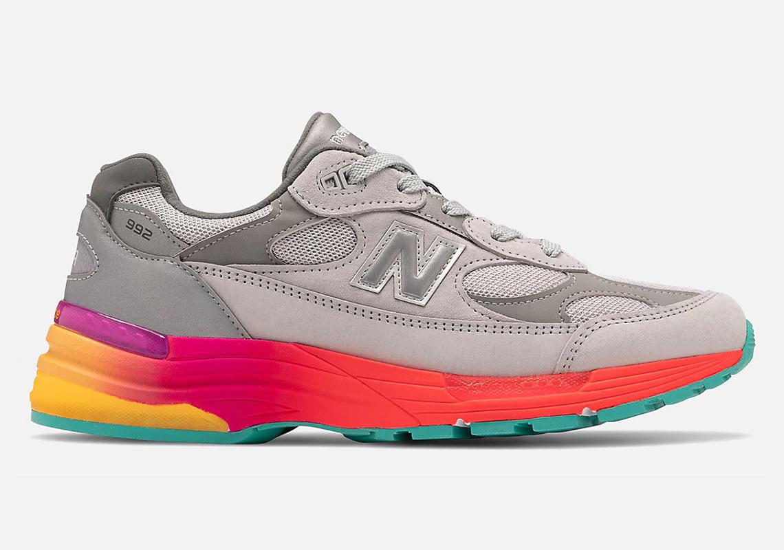 New Balance 992 Grey Multi-Color