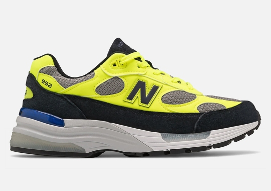 The New Balance 992 Gets A High-Visibility Hazard Yellow