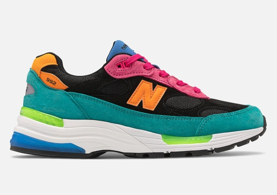 New Balance 992 Continues Its Assortment Of Multi-Color Upper Options