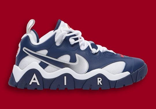 The Nike Air Barrage Low Is Coming Soon In USA Colors