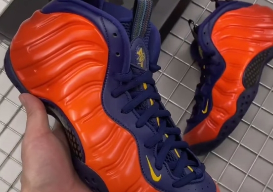 "The Nike Air Foamposite One ""Rugged Orange"" Releases On May 21st"