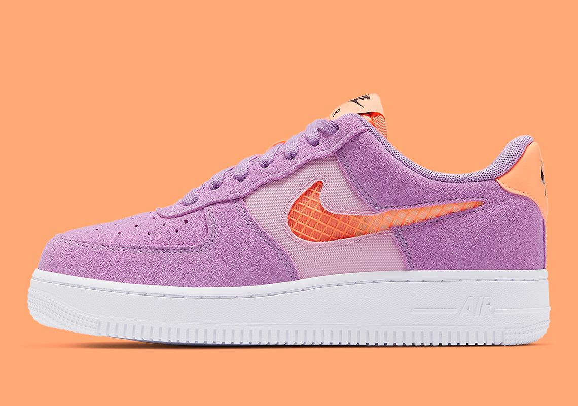 Nike Air Force 1 Violet Star CJ1647-500 | SneakerNews.com