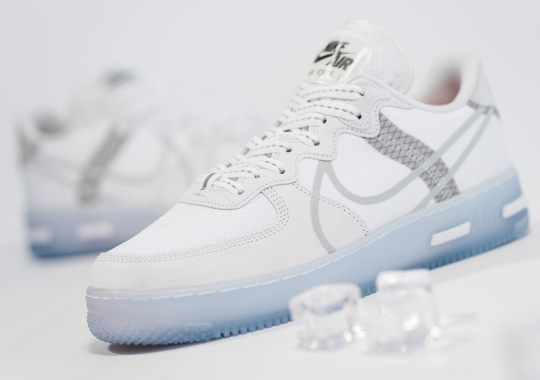 "The Nike Air Force 1 React QS ""Ice"" Releases Tomorrow"
