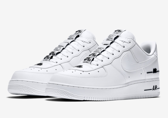 "Nike's Air Force 1 ""Added Air"" Series Continues With A Classic White And Black Colorway"