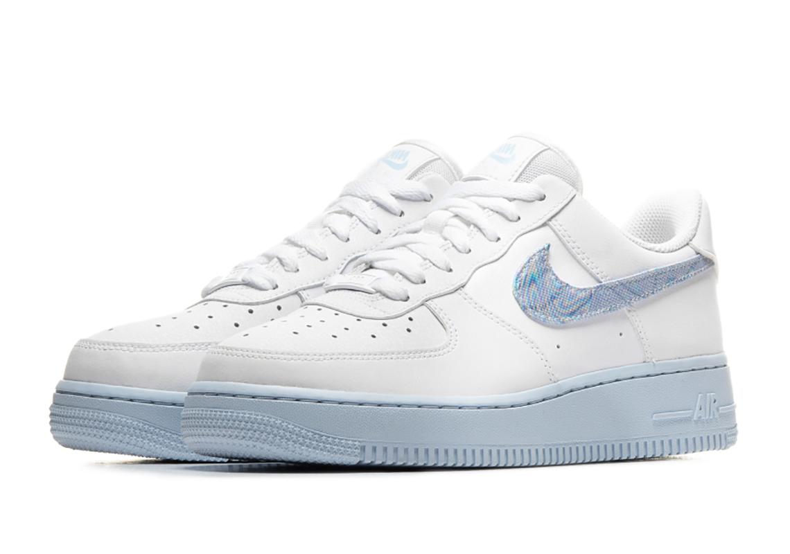 Claire Educación respuesta  Nike Air Force 1 White Hydrogen Blue CZ0377-100   SneakerNews.com