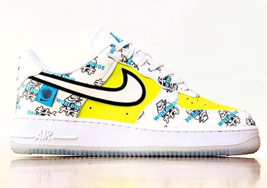 """The Nike Air Force 1 Low """"Worldwide"""" Series Touches Down In Japan"""