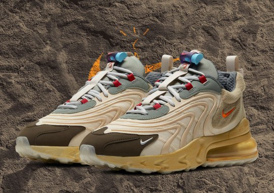 "For Upcoming Air Max 270 React ""Cactus Trails"", Travis Scott And Nike Take It Back To The 1990s"