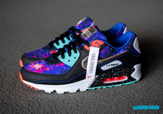 "The Nike Air Max ""Supernova 2020"" Pack Enhances Three Silhouettes With Space/Galaxy Themes"