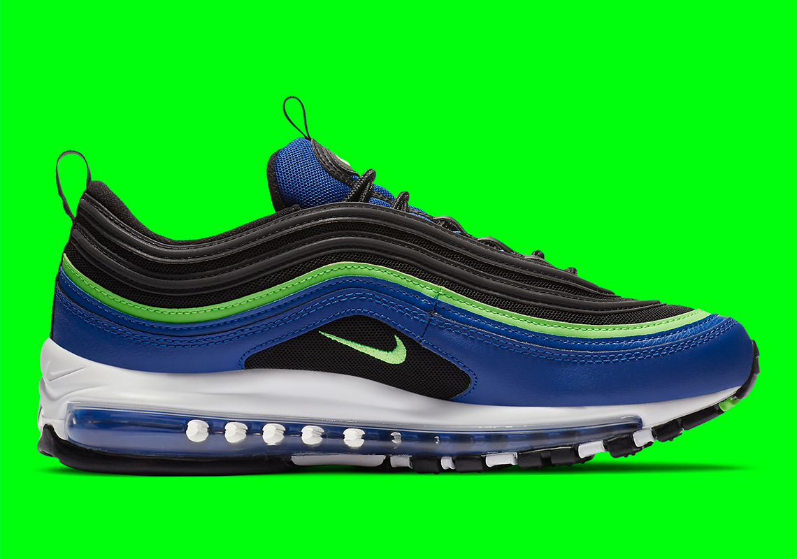 Nike Air Max 97 Blue Neon Cw5419 400 Sneakernews Com