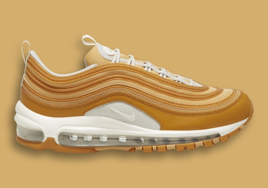 """The Nike Air Max 97 Is Coming In This Fall-Friendly """"Wheat"""""""