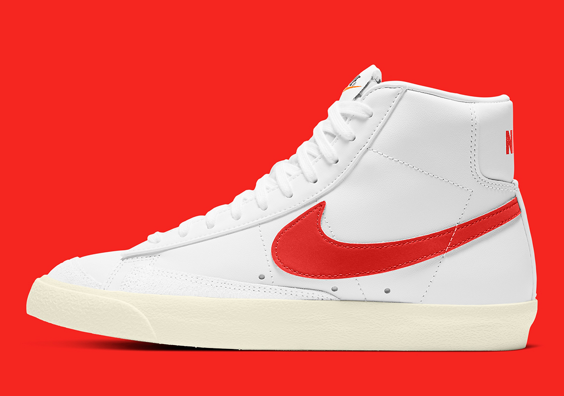 Nike Blazer Mid 77 White Orange CZ1055