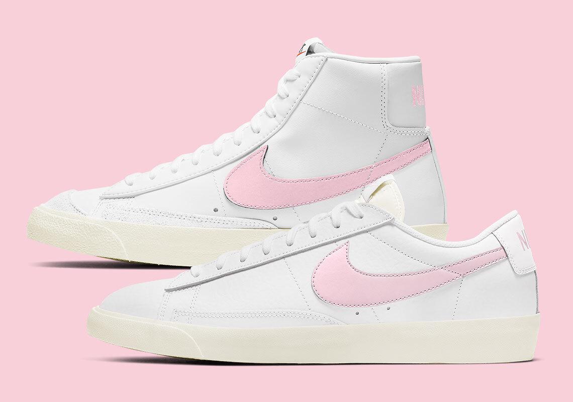 Date de sortie de la Nike Blazer Mid Low Pink Foam Crumpe