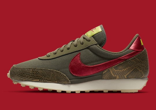 The Nike Daybreak Breaks Into Premium Category With Snakeskin And Metallic Foil