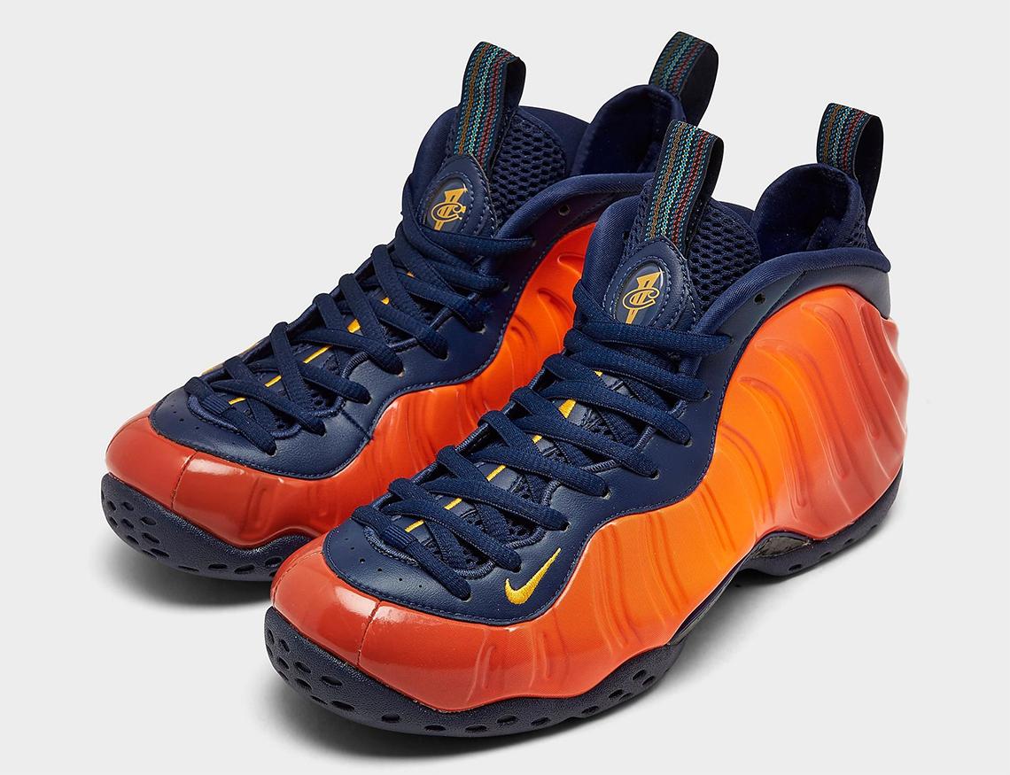 Nike Foamposite One Orange Blue CJ0303