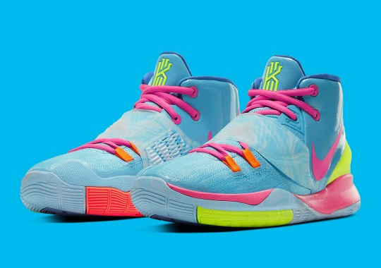 This Nike Kyrie 6 Is Made For A Kid's Summer Pool Party