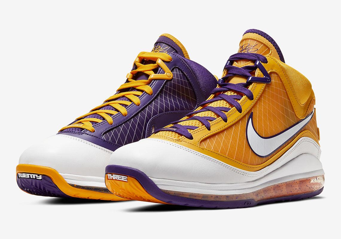 Nike LeBron 7 Media Day Lakers CW2300