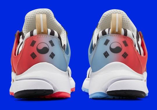 South Korea Gets A Tiger-Striped Nike Air Presto To Match Soccer Kits