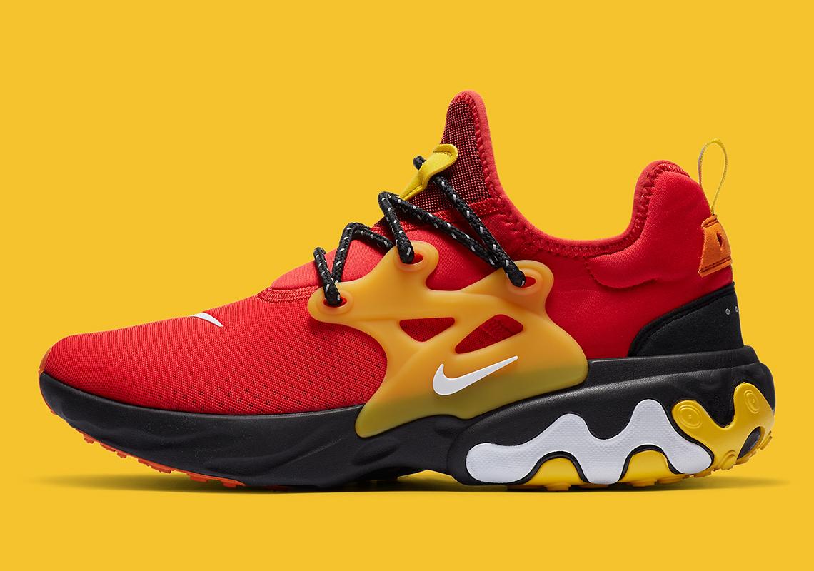 igualdad desconcertado frase  Nike React Presto Red Yellow CZ9273-600-1   SneakerNews.com