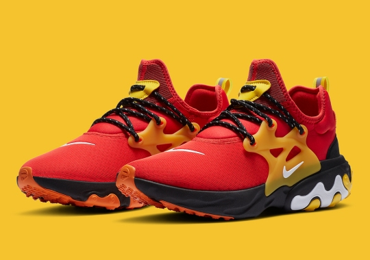 A Nike React Presto For Redskins Fans Appears