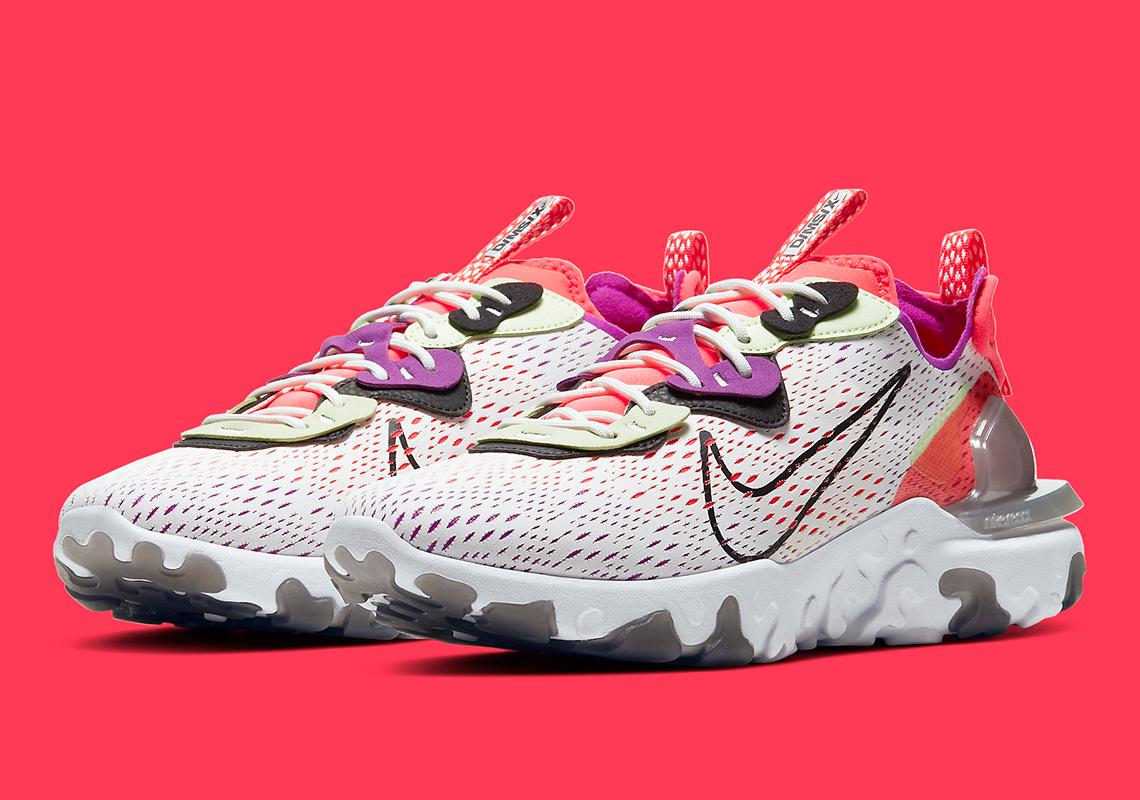 Nike React Vision Summit White Pink CD4373-102 | SneakerNews.com