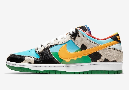 "The Ben & Jerry's x Nike SB ""Chunky Dunky"" Releases Today On SNKRS"
