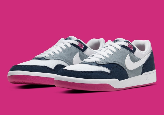 The Nike SB GTS Receives A Navy And Pink Update