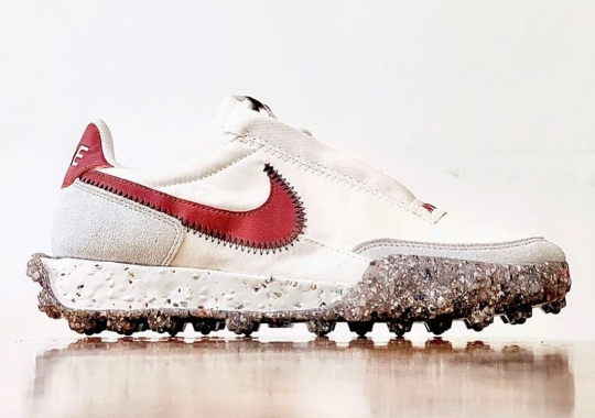 The Nike Waffle Racer Crater Uses The Recycled Space Junk Material