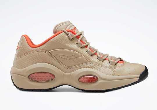 The Reebok Question Low Gets Covered In Exotic Leathers