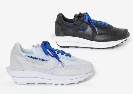 sacai Auctions Off Customized Versions Of Their Nike LDWaffle For COVID-19 Relief