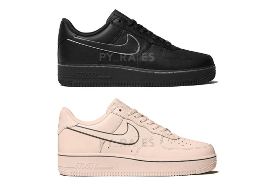 Stussy Has Two Nike Air Force 1 Low Collaborations Coming Later This Year