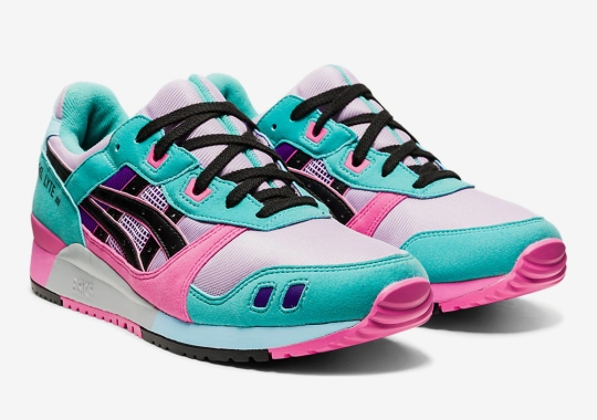 """ASICS GEL-Lyte 3 """"Dragon Fruit"""" Is Available Now"""
