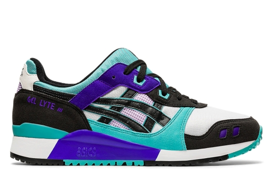 "The ASICS GEL-Lyte III OG ""Techno Cyan"" Has Arrived"