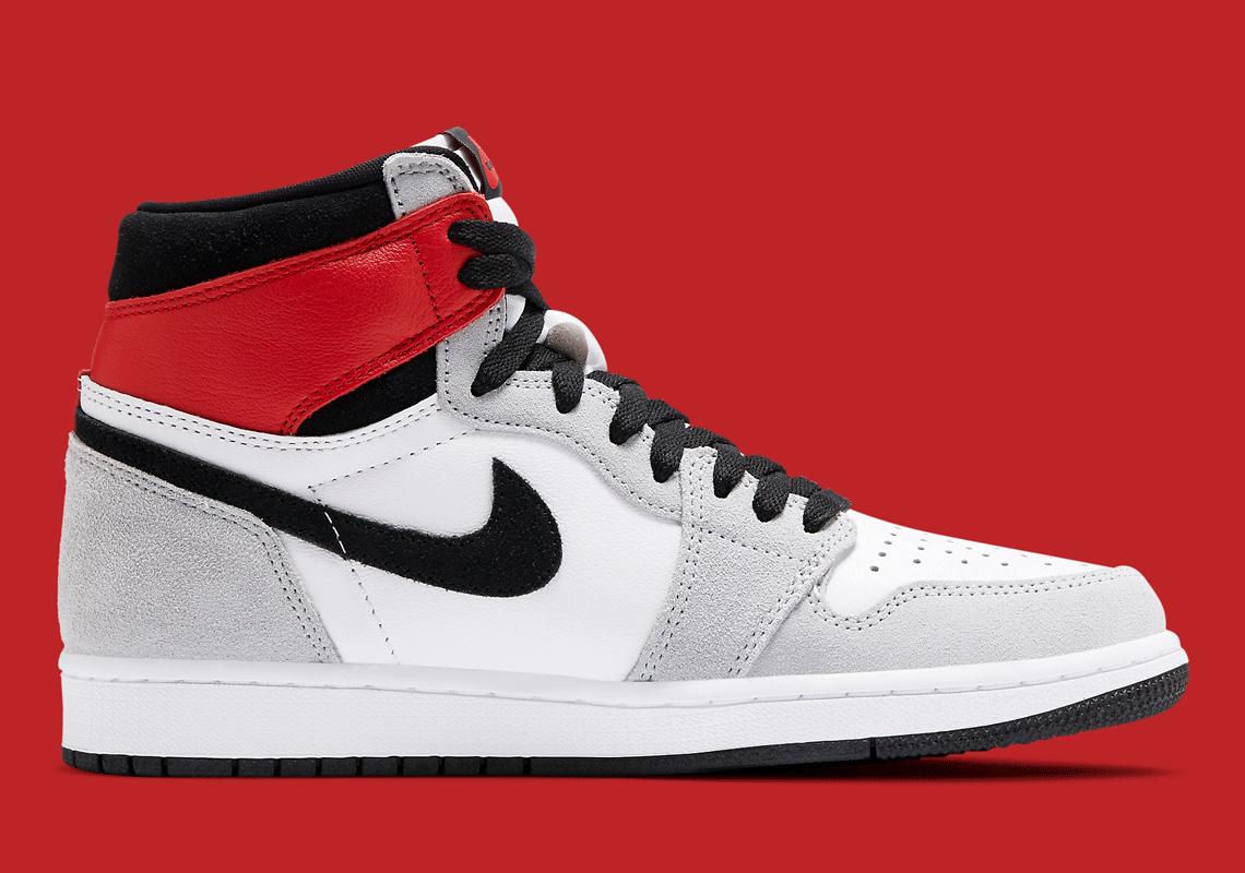 Air Jordan 1 High OG Light Smoke Grey 555088-126 5