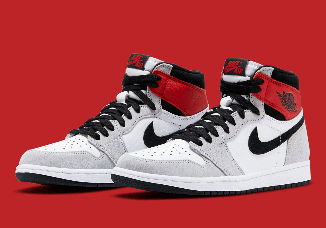 Air Jordan 1 High OG Light Smoke Grey 555088-126 3