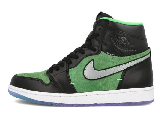 "Where To Buy The Air Jordan 1 High Zoom ""Zen Green"""