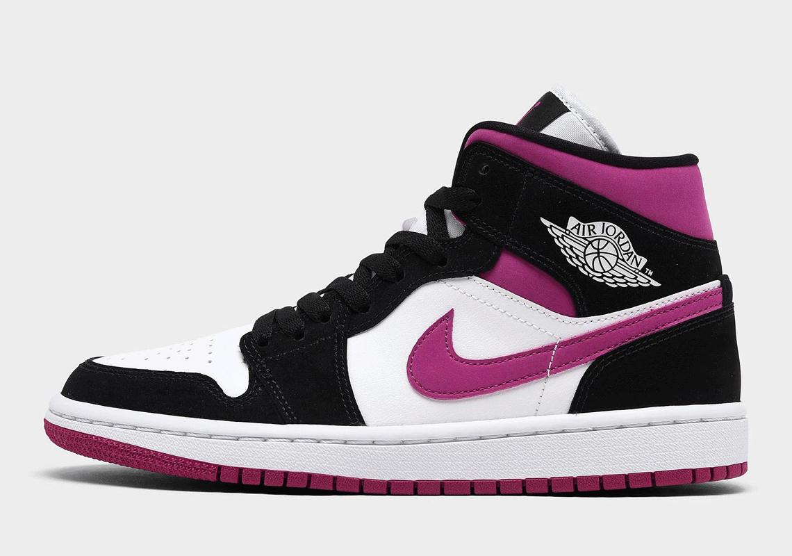 Air Jordan 1 Mid WMNS Magenta BQ6472-005 | SneakerNews.com