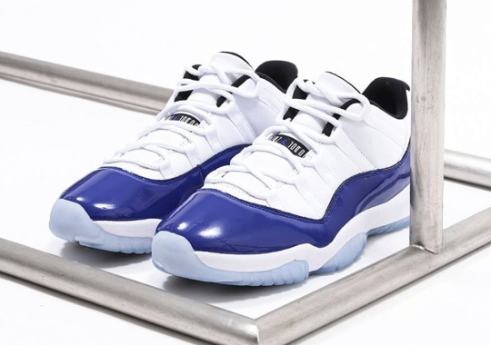 "Where To Buy The Air Jordan 11 Low WMNS ""Concord Sketch"""