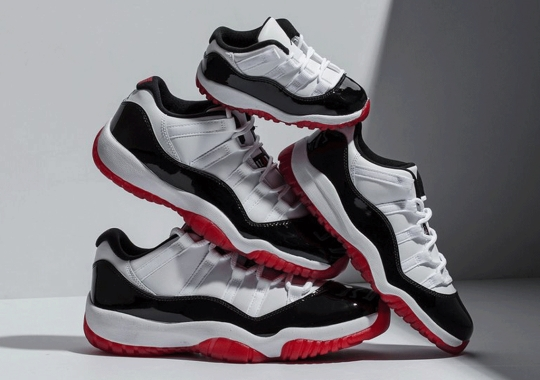 "The Air Jordan 11 Low ""Concord Bred"" Releases Tomorrow"