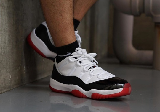 "Where To Buy The Air Jordan 11 Low ""Concord Bred"" On June 27th"