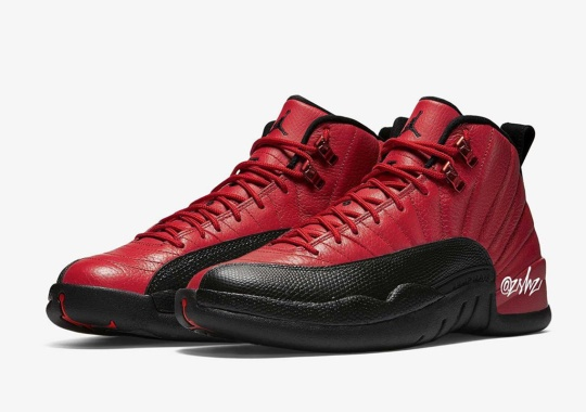 "The Air Jordan 12 Delivers A ""Reverse Flu Game"" Colorway In Time For Holiday 2020"