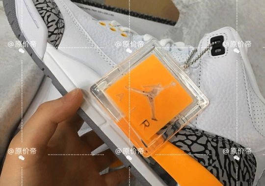 "A Better Look At The Upcoming Air Jordan 3 ""Laser Orange"" For Women Is Revealed"