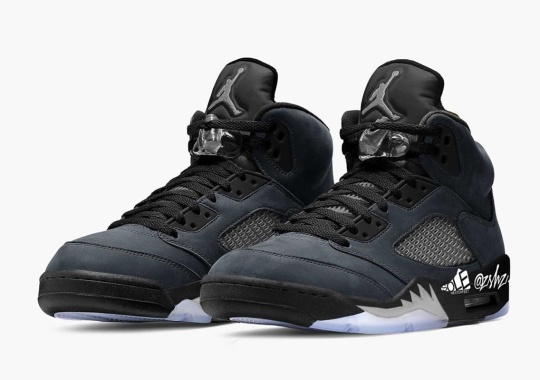 "The Air Jordan 5 To Release In An ""Anthracite"" Colorway Early 2021"