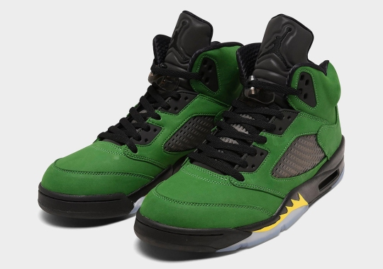 "Where To Buy The Air Jordan 5 ""Oregon"""