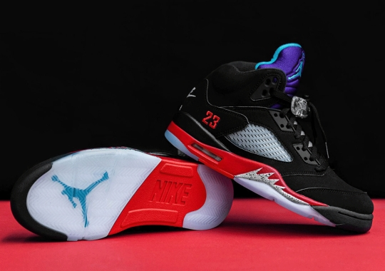 "Air Jordan 5 ""Top 3"" To Release Tomorrow In Europe And Asia"