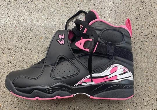 """A Grade School Air Jordan 8 Is Arriving In """"Pinksicle"""""""