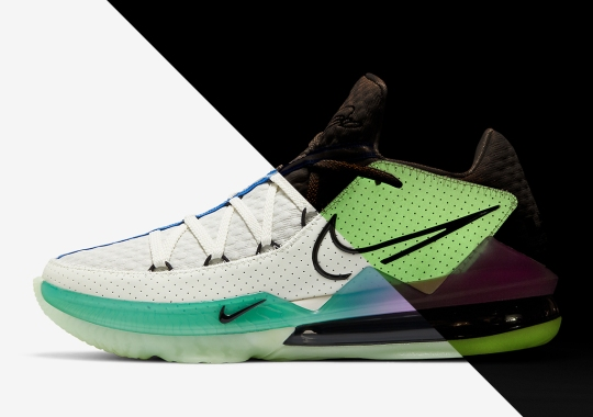 "Official Images Of The Nike LeBron 17 Low ""Glow In The Dark"""