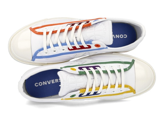"""The Converse Star Player OX Returns For Another """"Logo Mash Up"""" Colorway"""