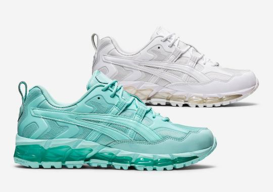 GmbH Expands Their Collaborative ASICS GEL-Nandi 360 With White And Skylight Colorways