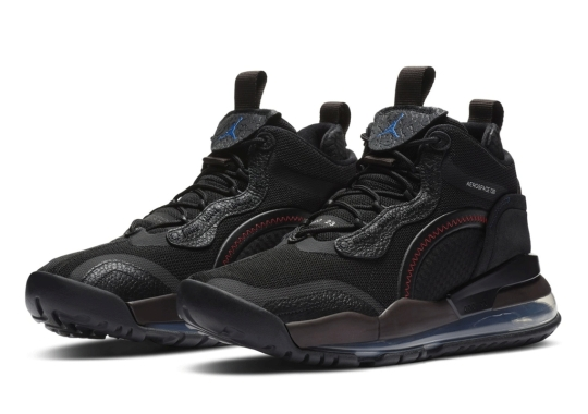 The Jordan Aerospace 720 Continues Down A Premium Path With Leather And Jacquard Knit