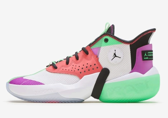 First Look At The Jordan React Elevation Basketball Shoe
